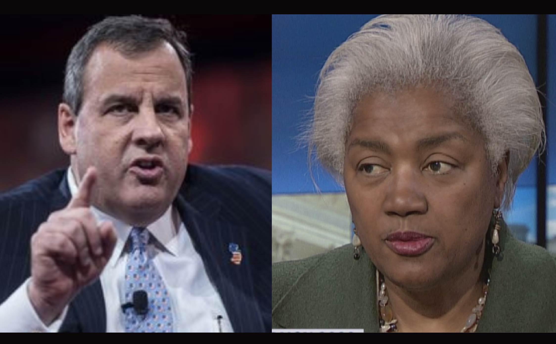 [VIDEO] Bet Donna Brazile Wishes She Was Back on Fox News, After Chris Christie Humiliates Her on ABC