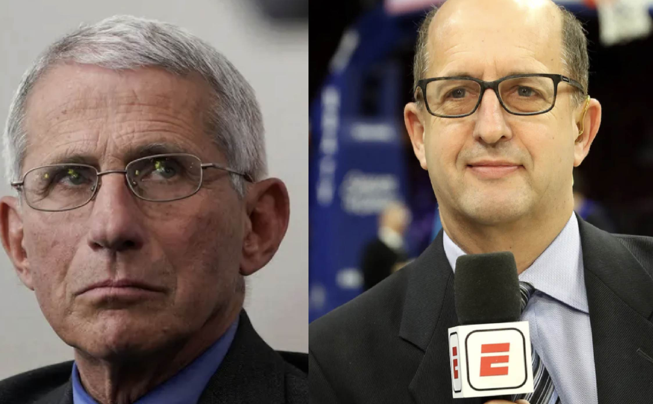 [VIDEO] NBA Finals Announcer Dunks On Dr. Fauci Live on The Air