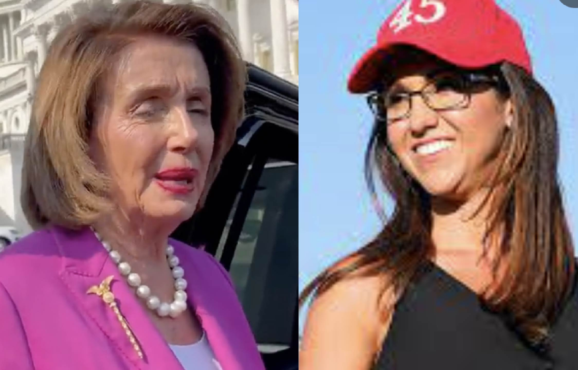 [VIDEO] Rep Boebert Takes a Dig at Pelosi and The Floodgates Opened