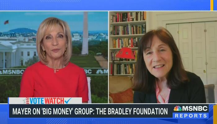 Mitchell Touts 'Very Special' Jane Mayer Hit Piece on Conservatives 'Suppressing the Vote'