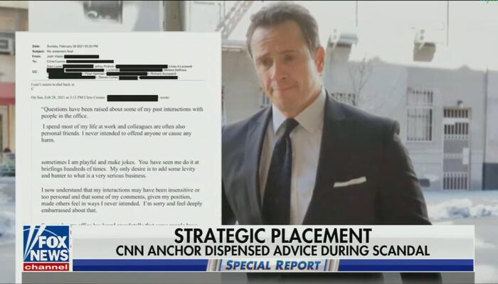 Protecting Their Own? Nets Censor Chris Cuomo Advising Brother in Scandal