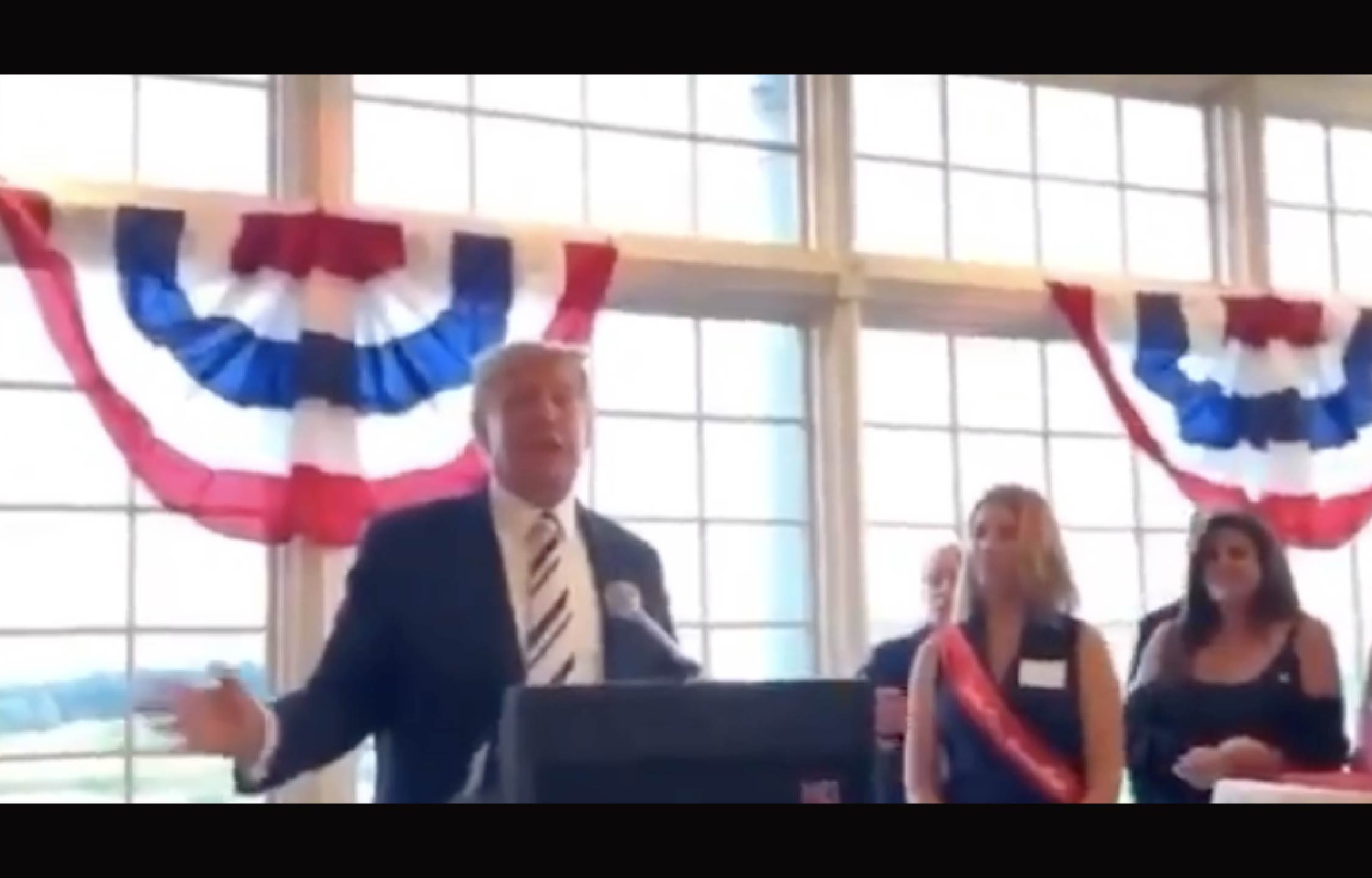 [VIDEO] Looks Like Trump Just Gave His 2024 Game Plan Away to a Lady in The Crowd