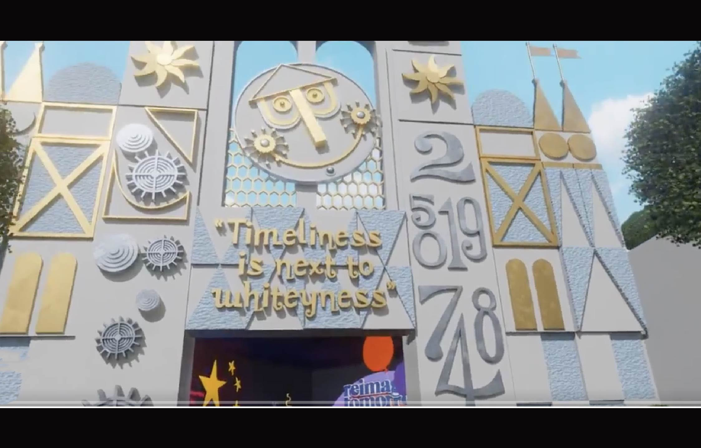 """[VIDEO] You'll Never See Disney's """"It's a Small World"""" Ride The Same Way Again"""