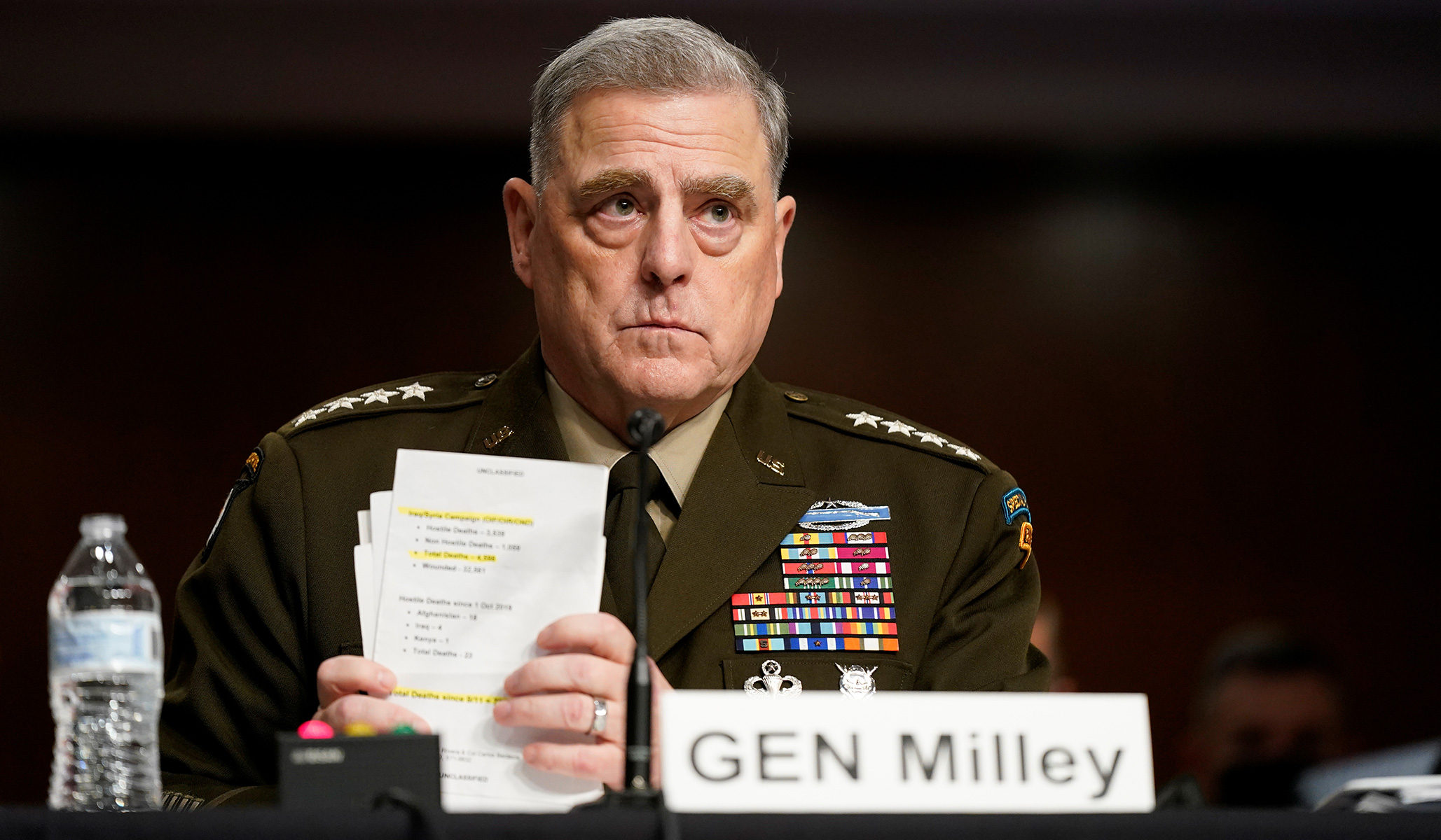 Milley Defends Call to Chinese Counterpart, Says He Was Not Trying to 'Usurp Authority or Insert Myself'