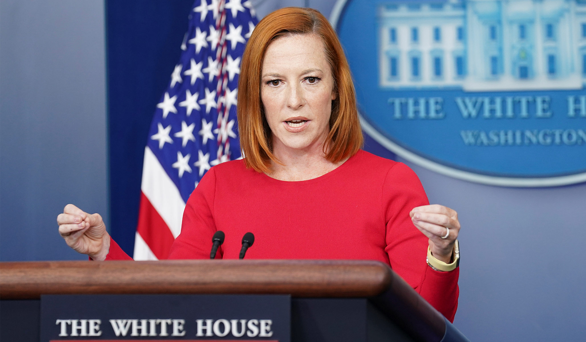 Psaki Responds to Obama's Claim That Open Borders Policy Is 'Unsustainable'