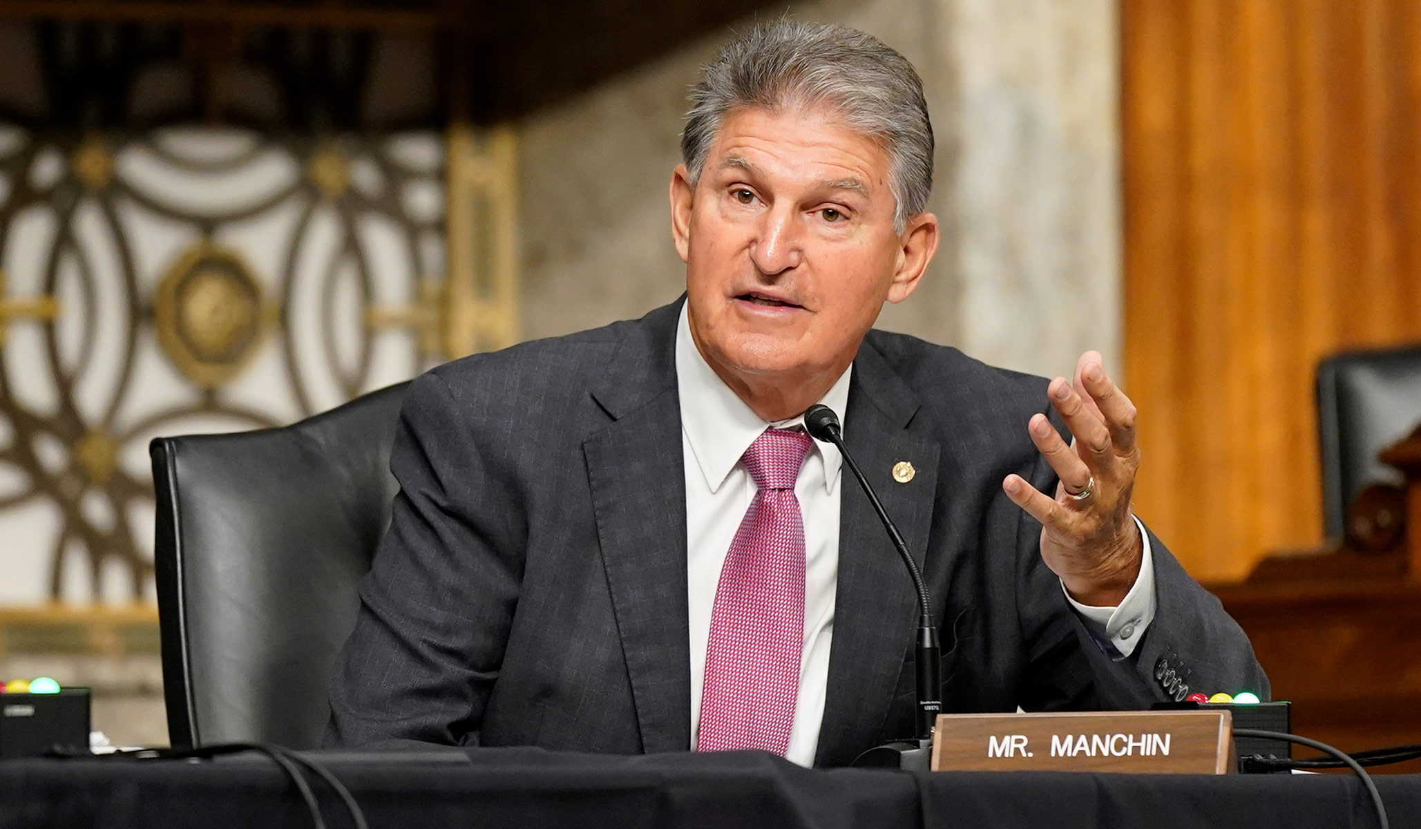 Senator Manchin: 'I Cannot — and Will Not — Support Trillions in Spending'