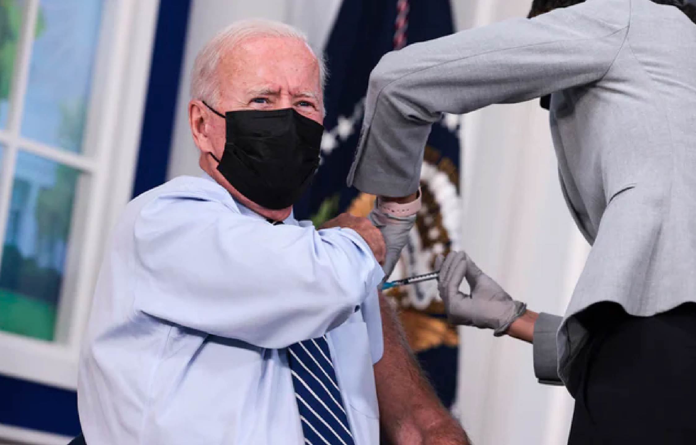 """Twitter User Spots Suspicious """"Outline"""" on Joe Biden's Arm, and It Sparks Questions"""