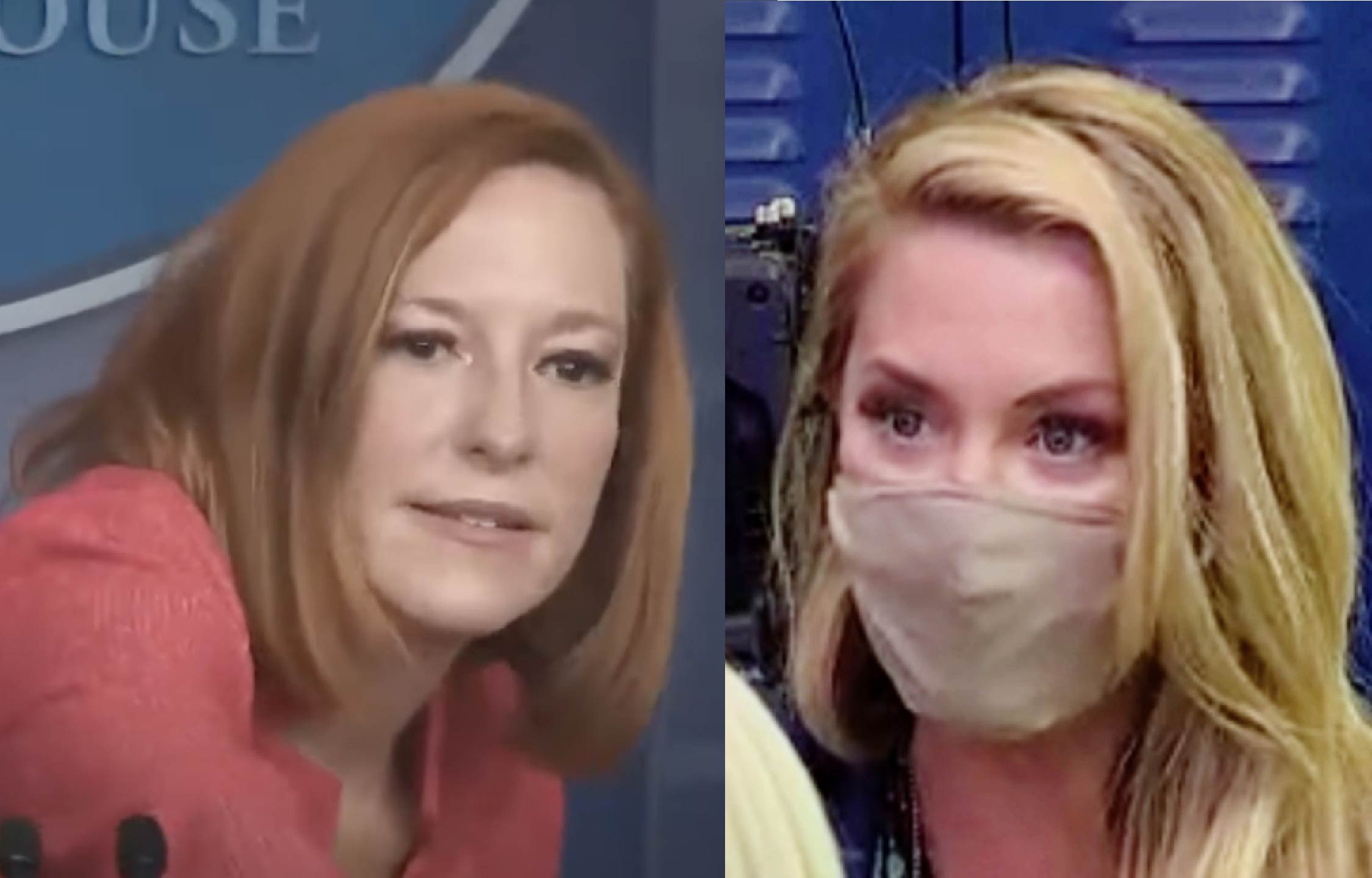 [VIDEO] Agitated Jen Psaki Gets Really Snotty With OANN Emerald Robinson Over Joe's Low Polling Numbers