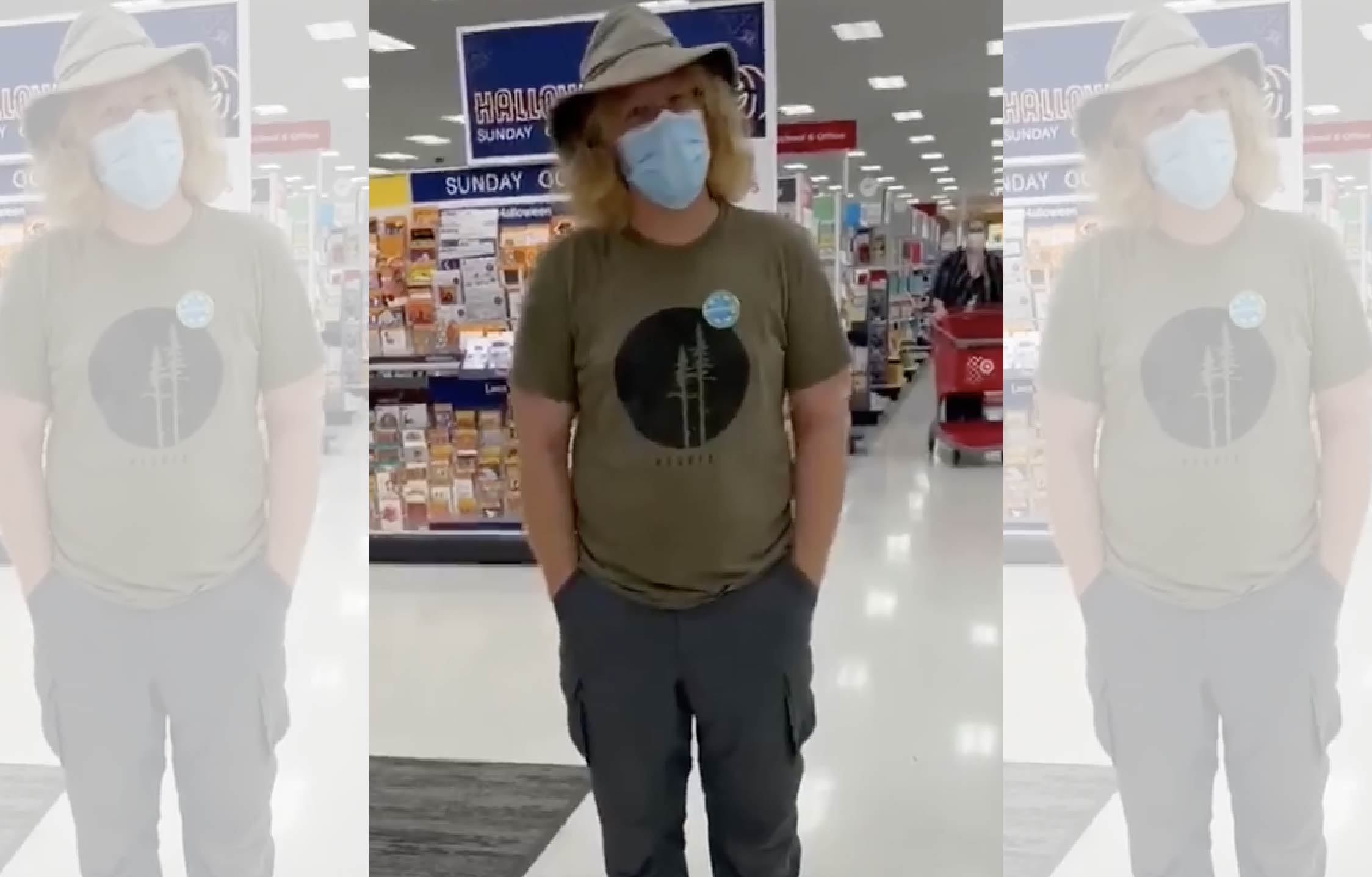 [VIDEO] Customers in Target Store Rescue Unvaxed Trump Supporter From Vicious Vaxed Stalker