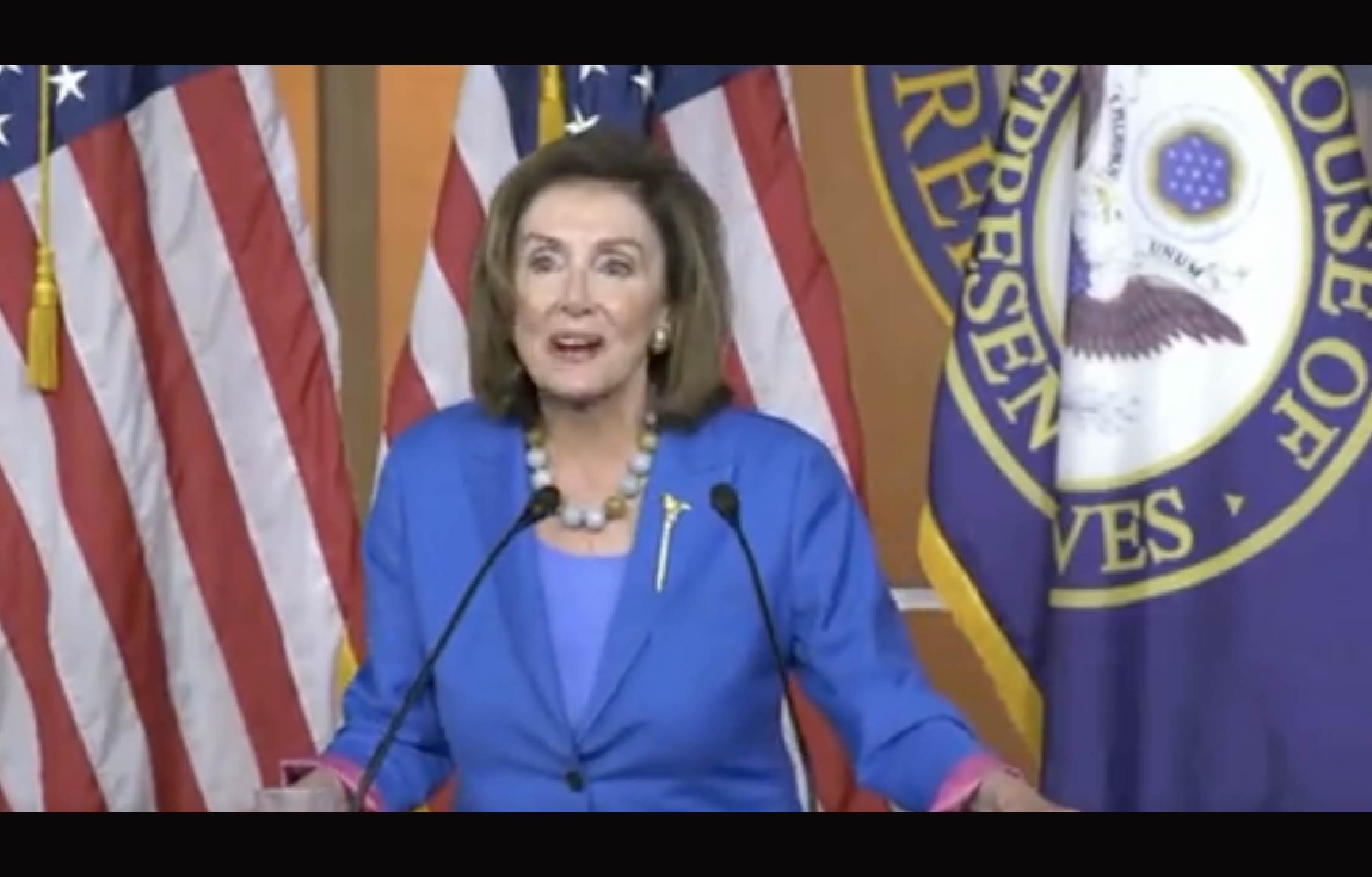"""[VIDEO] Pelosi Behaves So Alarmingly During Presser That People Actually Ask """"Is She Drunk?"""""""