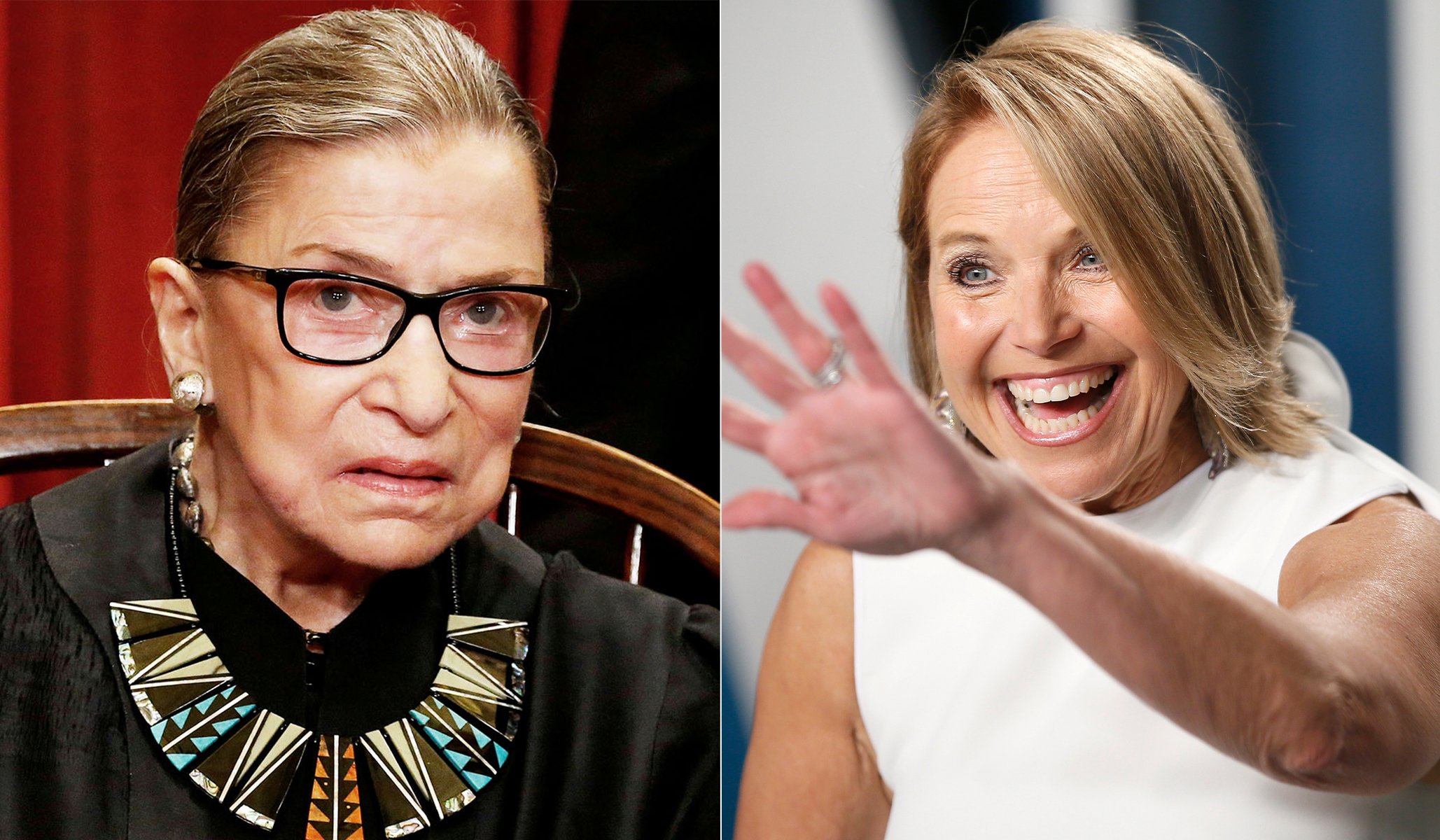 Katie Couric Covered Up Ruth Bader Ginsburg Comments