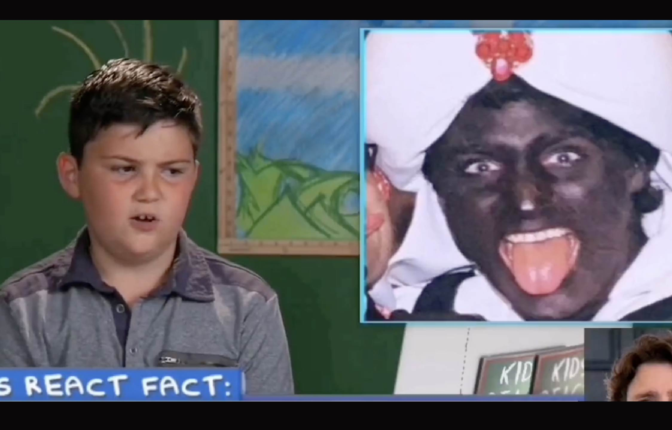 Kids React to Justin Trudeau's Infamous 'Black Face' and The 'Twist' is Hilarious