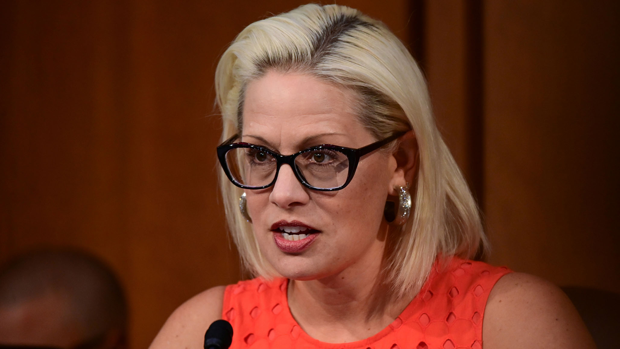 Reconciliation Package: Activists Follow Kyrsten Sinema into Bathroom, Harass Her over Opposition to Package