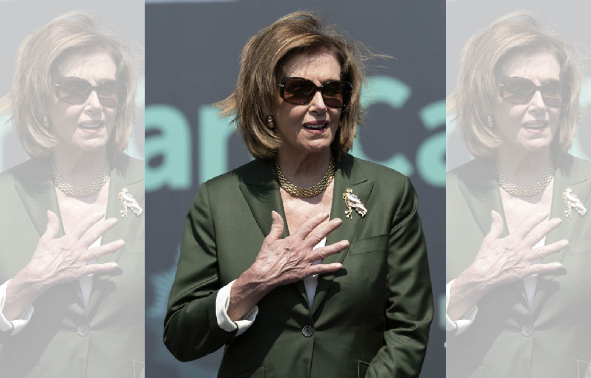 The Good People of Rome Just Heckled and Mocked Pelosi Right Outta Town
