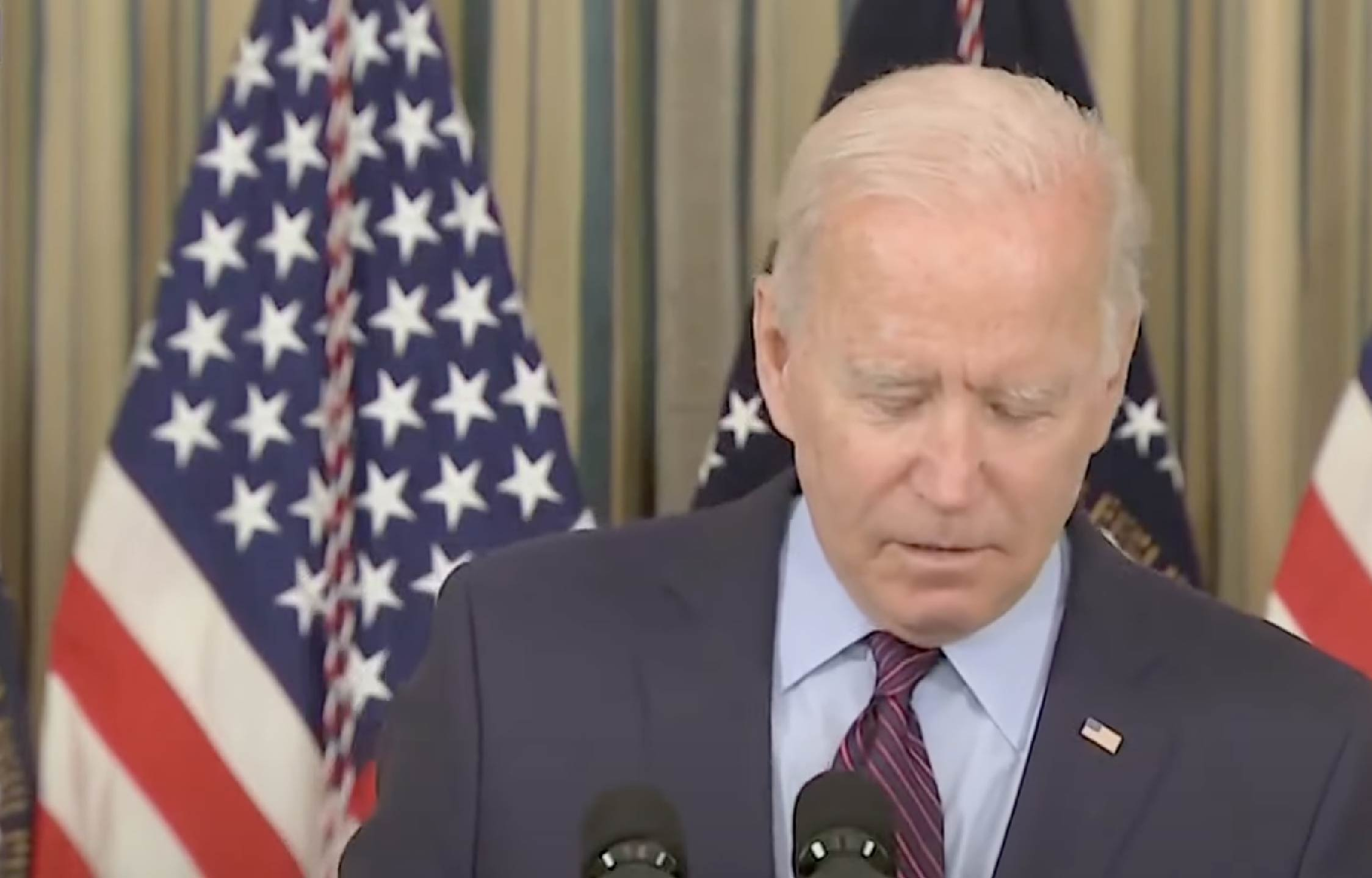 """[VIDEO] Biden Refuses to Discuss Foreign Policy Because He Doesn't Want to """"Confuse The American People"""""""