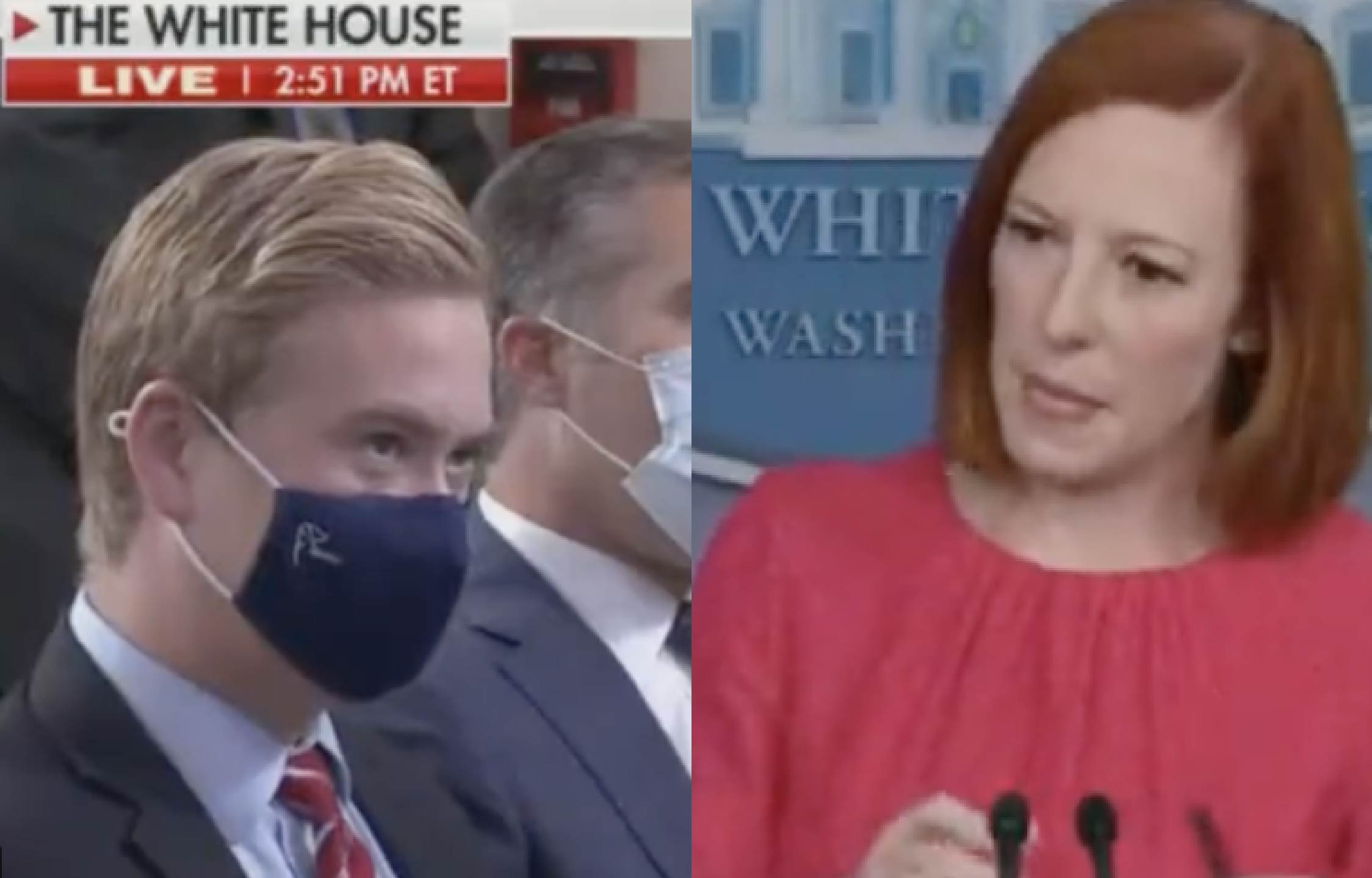 [VIDEO] Peter Doocy Delivers His Most Savage Line Yet, And Jen Psaki Never Saw it Coming
