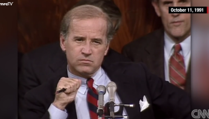 WATCH: Clarence Thomas Takes on the Left's 'High Tech Lynching' 30 Years Ago Today